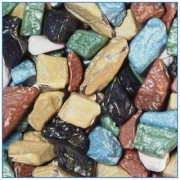 Chocolate Rocks (Assorted Colors)  2/5Lb.