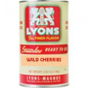 Wild Cherries , 6#5 Cans