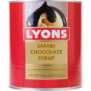 Safari Chocolate Syrup, 6#10 Cans