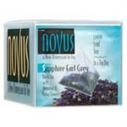 Sapphire Earl Grey Flavored Tea, 1/50Ct- Novus