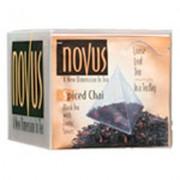 Spiced Chai Flavored Tea, 1/50Ct- Novus