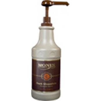Monin Dark Chocolate Sauce, 1/64Oz- Monin