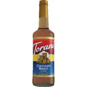Torani Chocolate Bianco