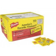 Mustard Packets, 500Ct- French's