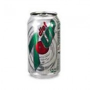Diet 7 Up, 24/case