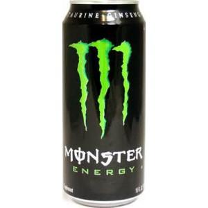 Monster Energy Drink, 24/16 Oz- Hansen's