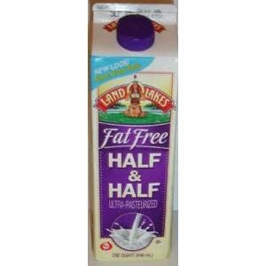 Half And Half, 1/2 Gal