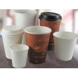 Brown Coffee Design Hot Cup