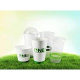 Clear Plastic Pla Eco-Friendly Cups