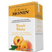 Peach Fruit Smoothie Mix, 6/46Oz Monin
