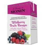 Wildberry Fruit Smoothie Mix, 6/46Oz Monin
