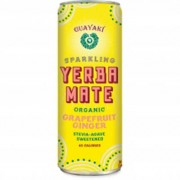 Grapefruit Ginger Sparkling Mate, 12/12Oz. - Guayaki