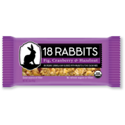 18 Rabbits Fig Cranberry Bars - 12/1.6oz.
