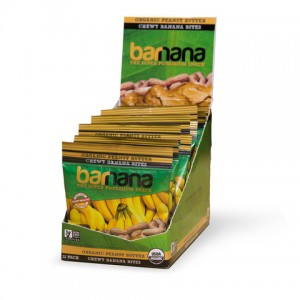 SMALL PACKAGE PEANUT BUTTER BARNANA 12/ 1.4OZ