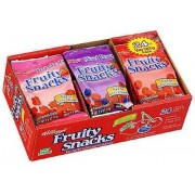 KELLOG'S FRUIT SNACKS, VARIETY PACK 18CT