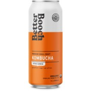BETTER BOOCH CITRUS SUNRISE KOMBUCHA ORGANIC 12/16 OZ.