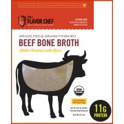 BONE BROTH BEEF ORGANIC, 6/24OZ