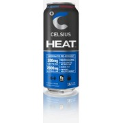 CELSIUS, HEAT  BLUEBERRY POMEGRANATE 12/16OZ