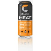 CELSIUS, HEAT ORANGESICLE  12/16OZ
