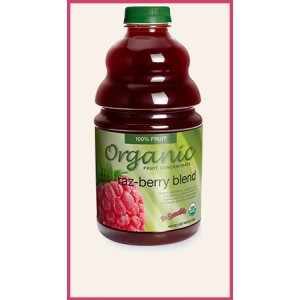 ORGANIC RAZ-BERRY, 46 OZ- DR. SMOOTHIE