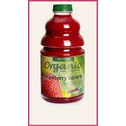 ORGANIC STRAWBERRY/BANANA, 46 OZ- DR. SMOOTHIE