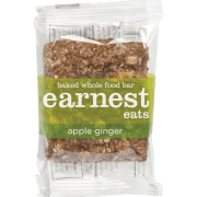 Earnest Eats Apple Ginger Food Bar, 12/ct.