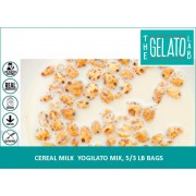 CEREAL MILK YOGILATO MIX, 5/3 LB BAGS-FROZEN BEAN