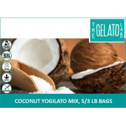 COCONUT YOGILATO MIX, 5/3 LB BAGS-FROZEN BEAN