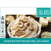 COOKIE BUTTER YOGILATO MIX, 5/3 LB BAGS-FROZEN BEAN