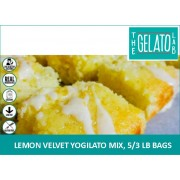 LEMON VELVET YOGILATO MIX, 5/3 LB BAGS-FROZEN BEAN