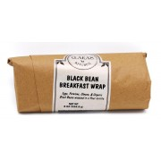 BLACK BEAN, EGG & CHEESE WRAP 12/8 OZ  - GALANT