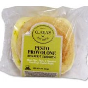 PESTO PROVALONE BREAKFAST SANDWICH 12/4 OZ - GALANT