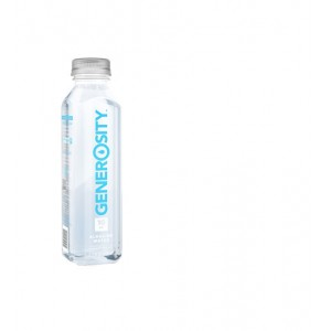 GENEROSITY WATER,  ALKALINE WATER 12/500 ML -16.9OZ.