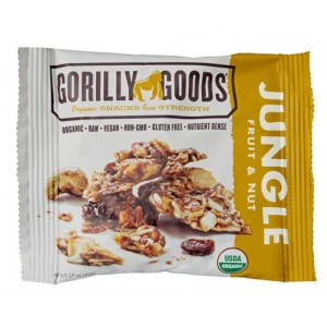 ORGANIC JUNGLE - FRUIT & NUT-12/1.7OZ - GORILLY GOODS