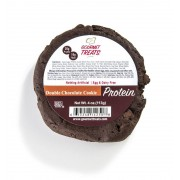 VEGAN PROTEIN: DOUBLE CHOCOLATE CHOC CHIP COOKIES 10/4 OZ.