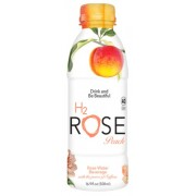ORGANIC ROSE WATER PEACH BEVERAGE  12/12 OZ - H2ROSE