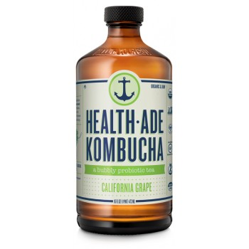 HEALTH-ADE  CALIFORNIA GRAPE KOMBUCHA, ORGANIC, 12/16 OZ