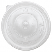 B - 20 OZ CLEAR FLAT LID 600 CT #6007