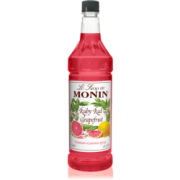 RUBY RED GRAPEFRUIT FLAVOR SYRUP 4/1 LTR MONIN