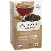 NUMI BREAKFEST BLEND BLACK TEA 6/18 CT.
