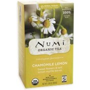 NUMI CHAMOMILE LEMON HERBAL TEAS 6/18CT.