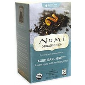 NUMI AGED EARL GREY BLACK TEA 6/18CT
