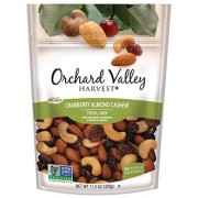 ORCHARD VALLEY CRAN, ALMOND, CASHEW MIX 12/2OZ.