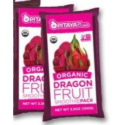 PITAYA  SMOOTHIE PACKS- QTY 60 -ORGANIC- PITAYA FOODS