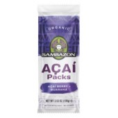 Acai Original Sweetened with Guarana, 80ct. Sambazon