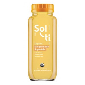 SOL-TI GINGERMADE SUPERADE, ORGANIC 6/15.5 OZ