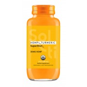 SOL-TI   HEMP + TURMERIC SUPER SHOT ORGANIC  12/2OZ