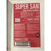 SUPER SAN FOOD SERVICE SANITIZER, 2 /1GAL - SSDC