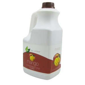 Mango Concentrated Syrup 64OZ. Bottles- Teazone