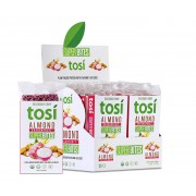 TOSI  Almond Dragonfruit Super Bites, 12 per box